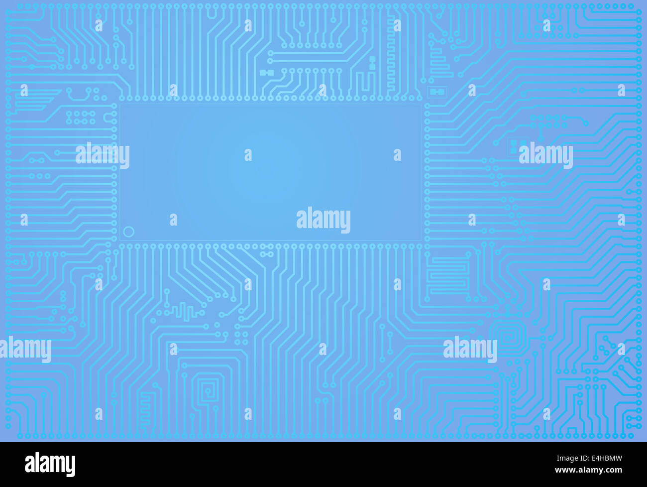 Hi Tech Wallpaper Stock Photos Images Alamy Custom Design On Circuit Board Horizontal Abstract Blue Background Image