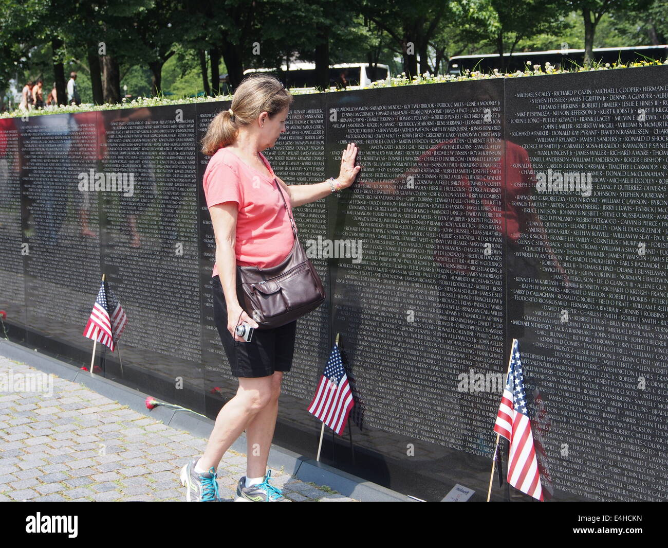 Viet Nam War, Memorial, Washington - Stock Image