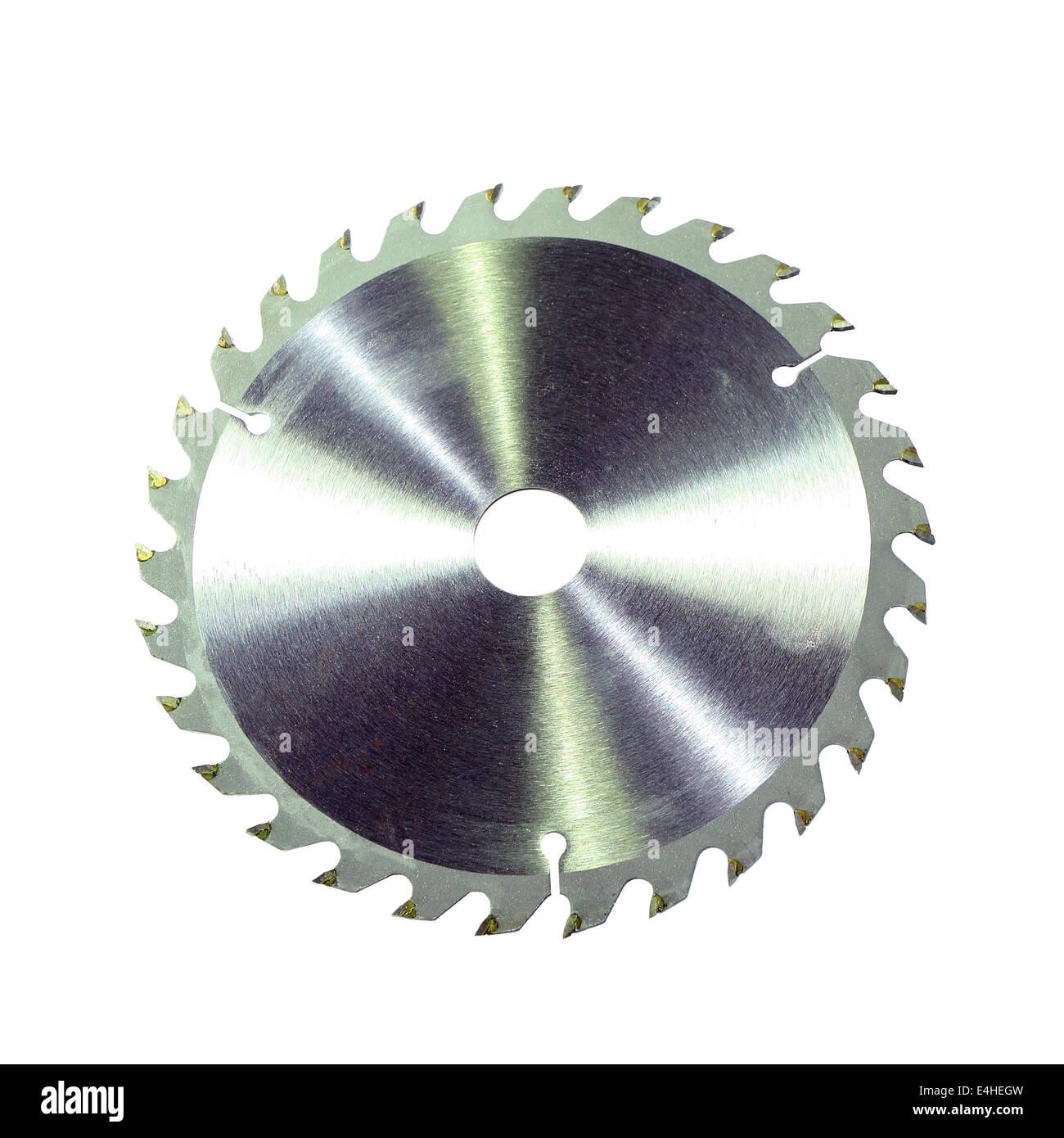 Circular saw blade - Stock Image