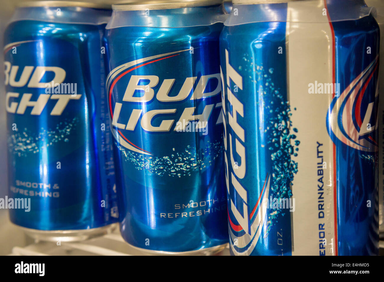 Bud Light Beer Store Stock Photos & Bud Light Beer Store