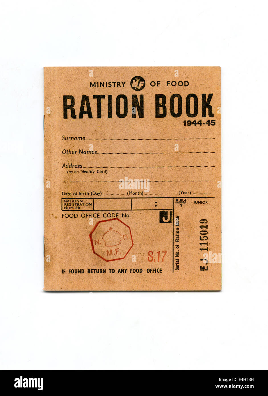 Patrolling ration coupons