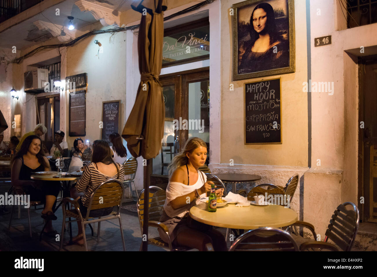 Italian Restaurant Da Vinci In Old Town Panama City San Filipe