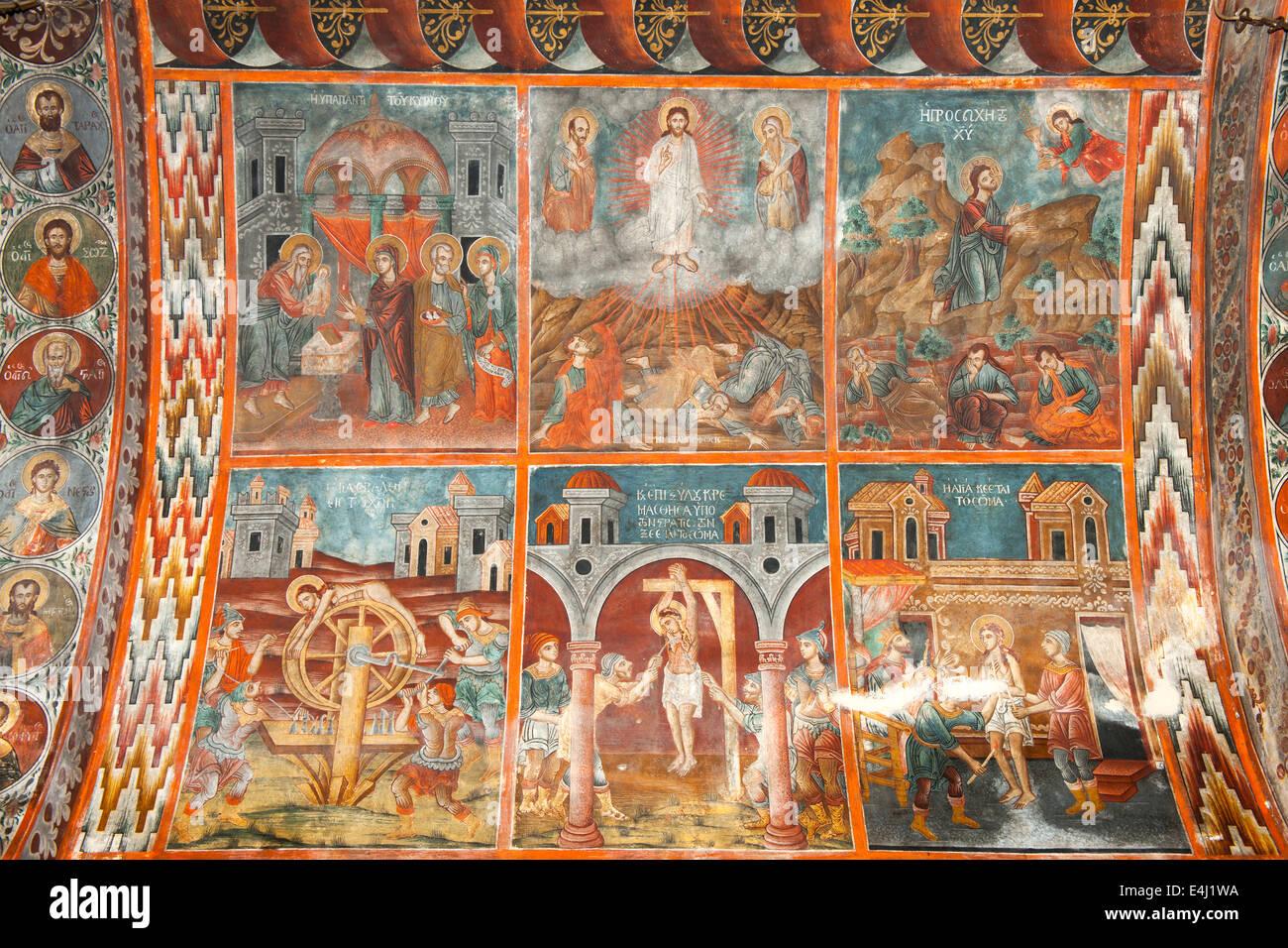 Griechenland, Rhodos, Gennadi - Stock Image