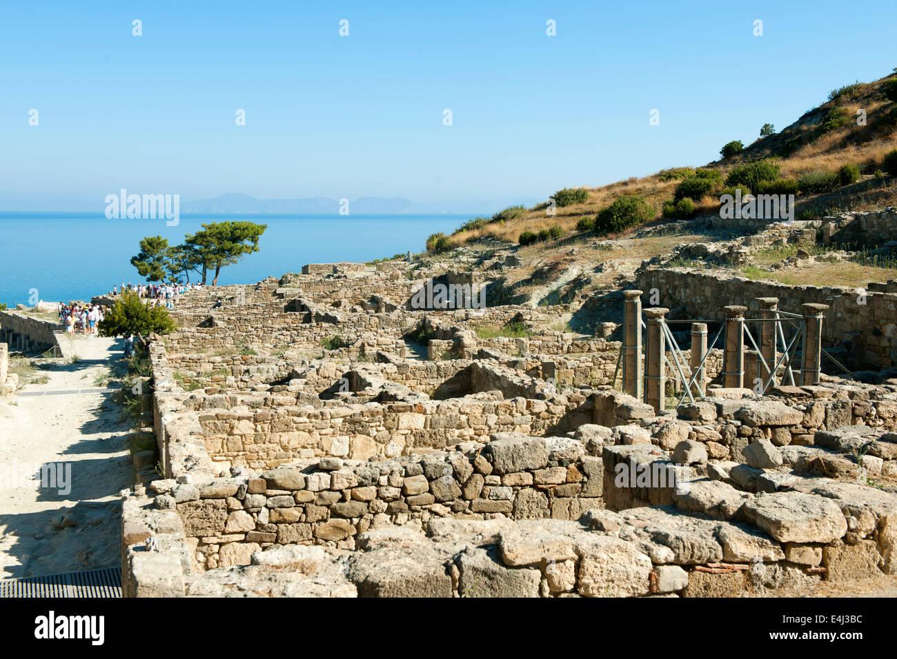 Griechenland, Rhodos, Kamires (Kamirou) - Stock Image