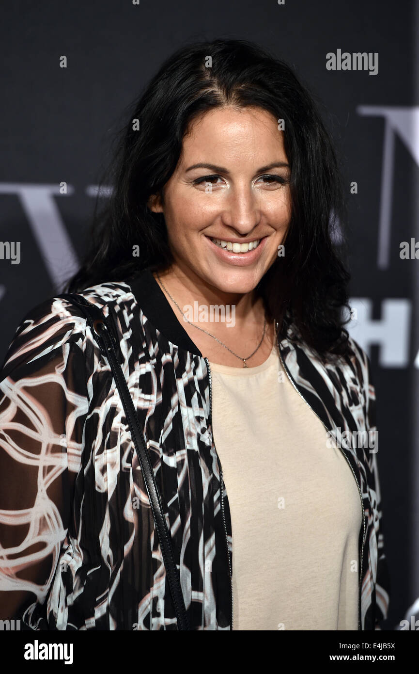 Berlin, Germany. 11th July, 2014. Movie producer Minu Barati-Fischer attends the Michalsky Stylenite during the - Stock Image