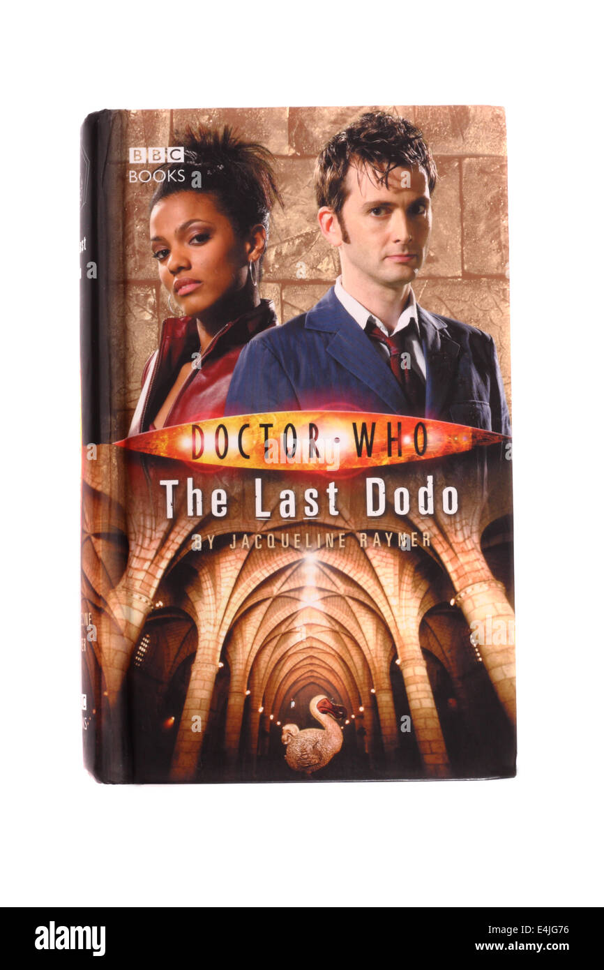 A Doctor Who novel written by Jacqueline Rayner. The Last Dodo. - Stock Image