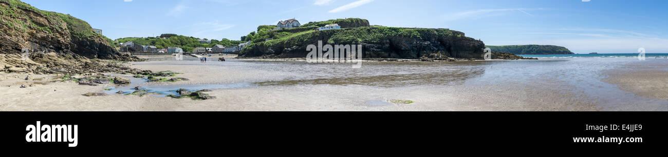 Little Haven beach, Pembrokeshire, Wales, UK - Stock Image