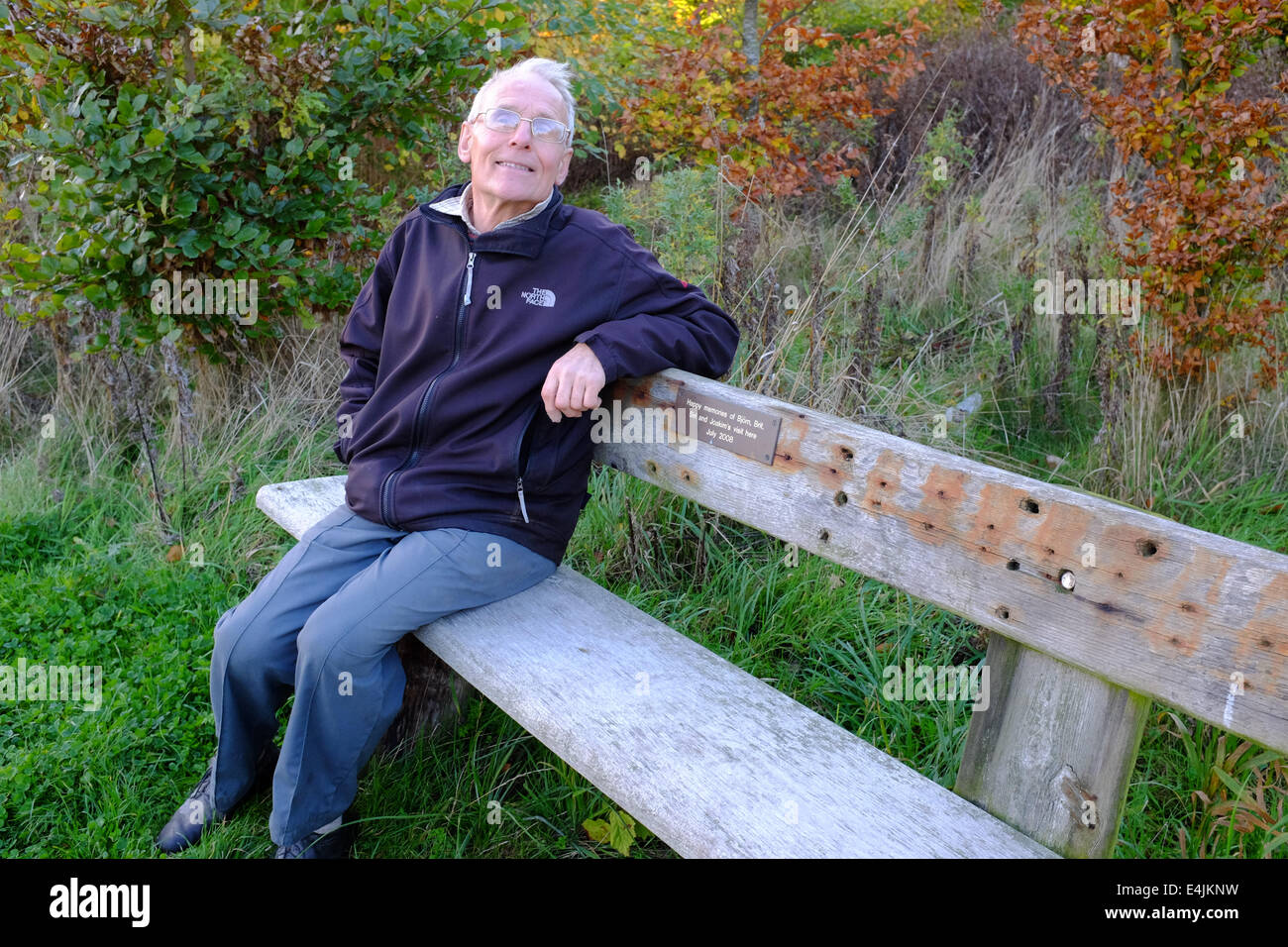 Adrian Isaac founder and Chair of the Boston Woods Trust - Stock Image