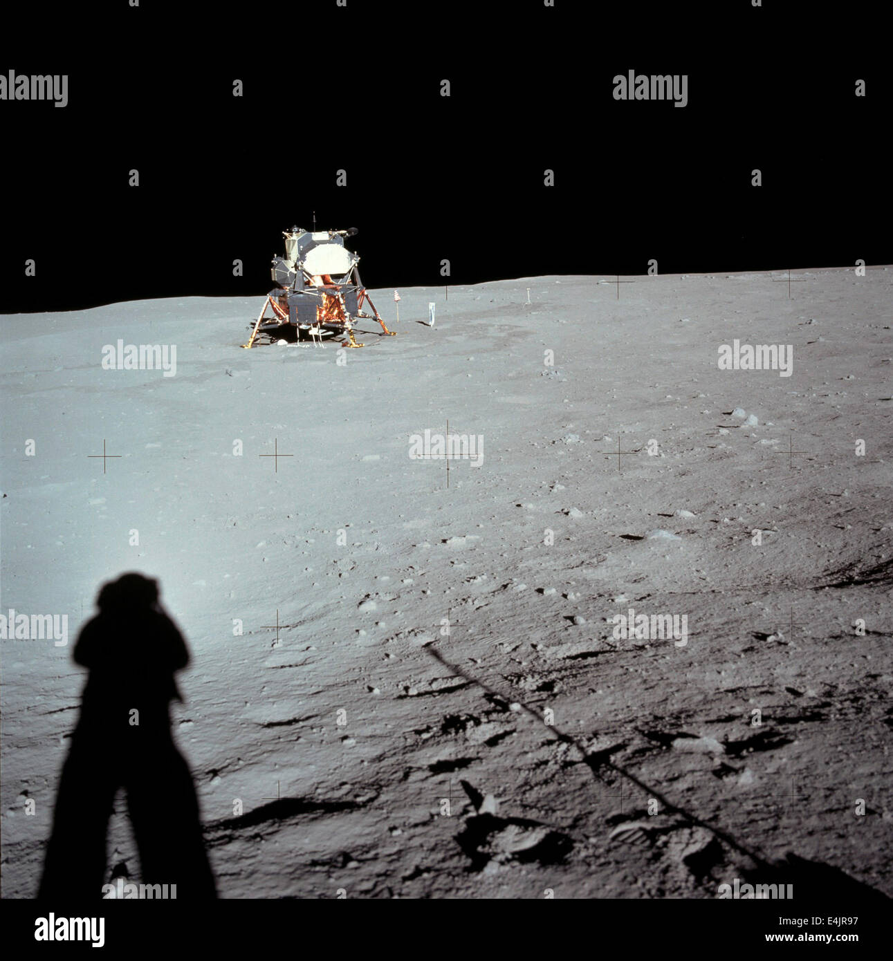 Apollo 11 space mission - Stock Image