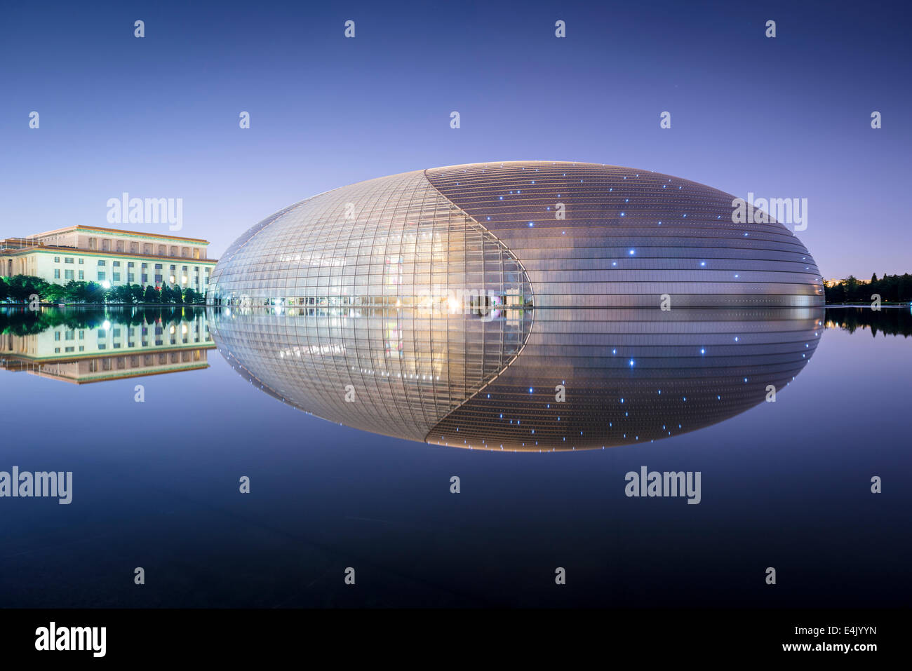 National Centre for the Performing Arts in Bejing, China. - Stock Image