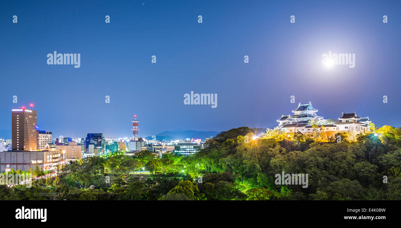 Wakayama City, Japan. - Stock Image