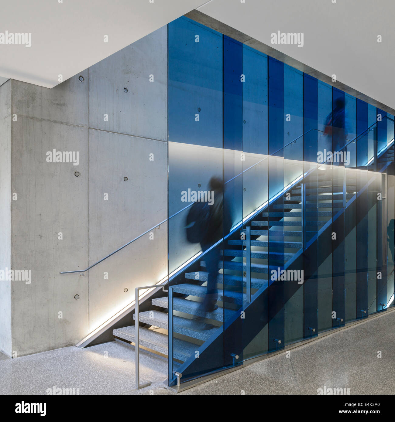 Mike & Ophelia Lazaridis Quantum-Nano Centre, Waterloo, Canada. Architect: KPMB Architects, 2012. - Stock Image