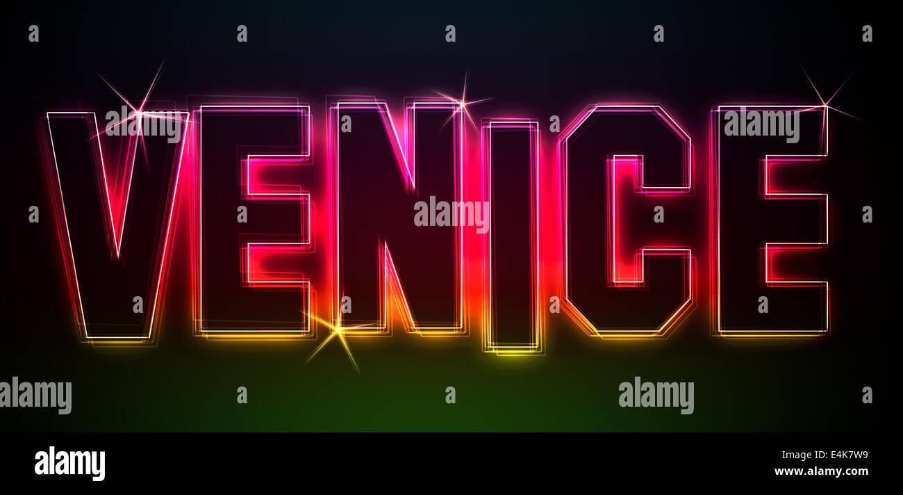 VENICE - Stock Image