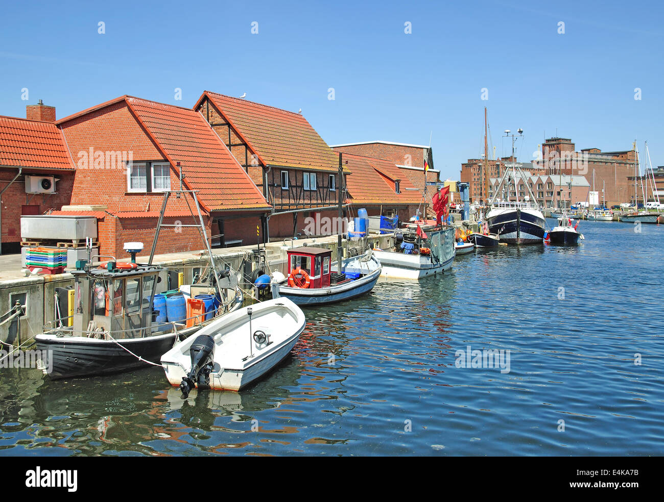 Wismar,Baltic Sea,Germany - Stock Image