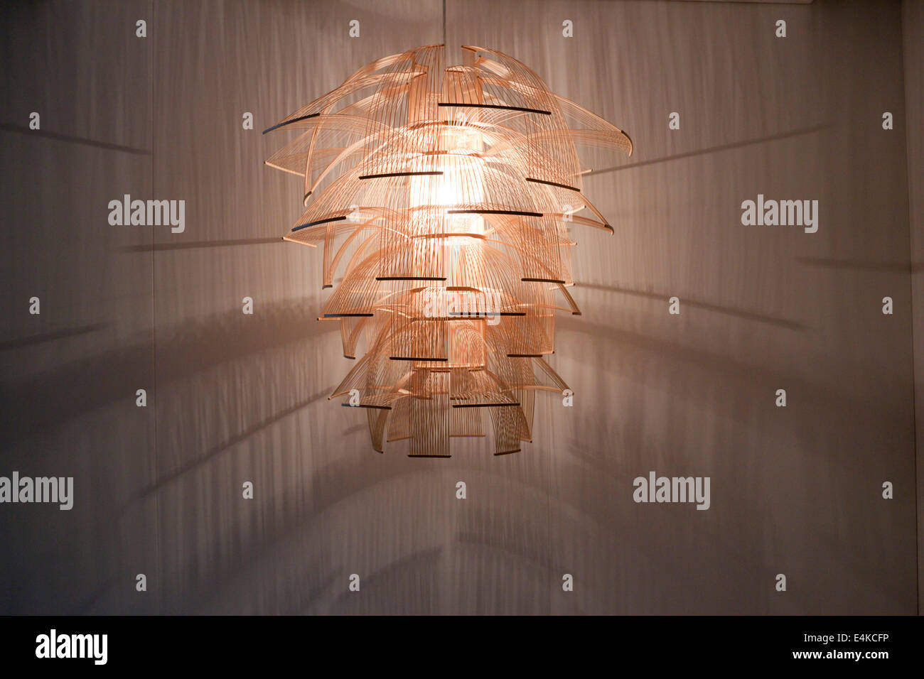 Oriental Lighting Like Bird S Cage Milano Lombardia Italy Stock Photo Alamy