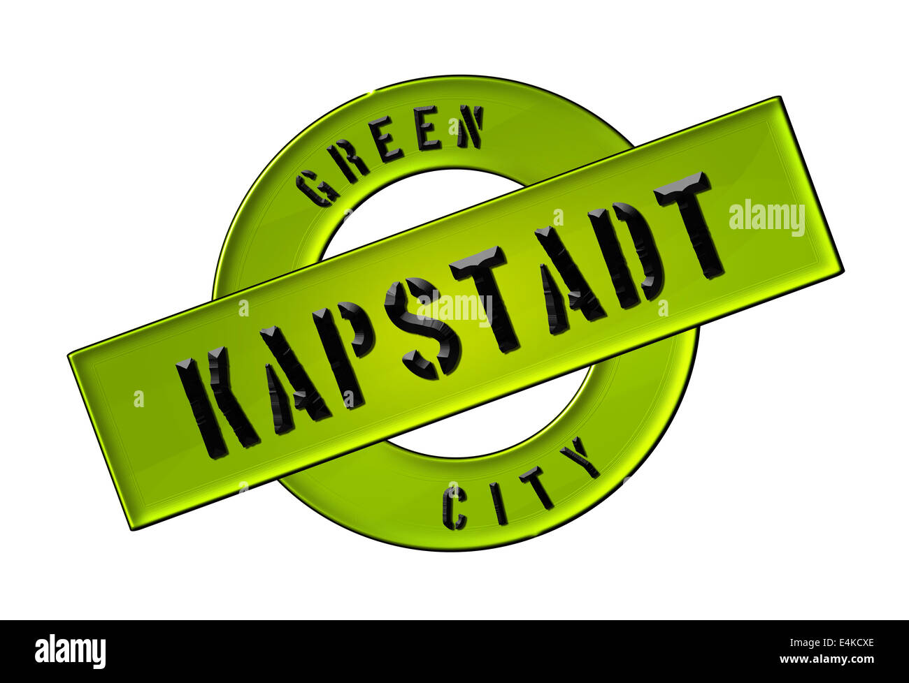 GREEN CITY KAPSTADT - Stock Image
