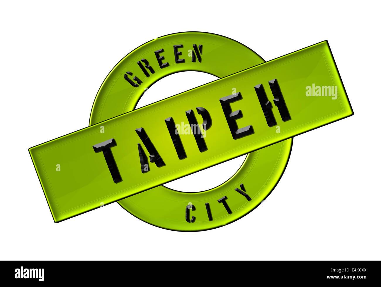 GREEN CITY TAIPEH - Stock Image