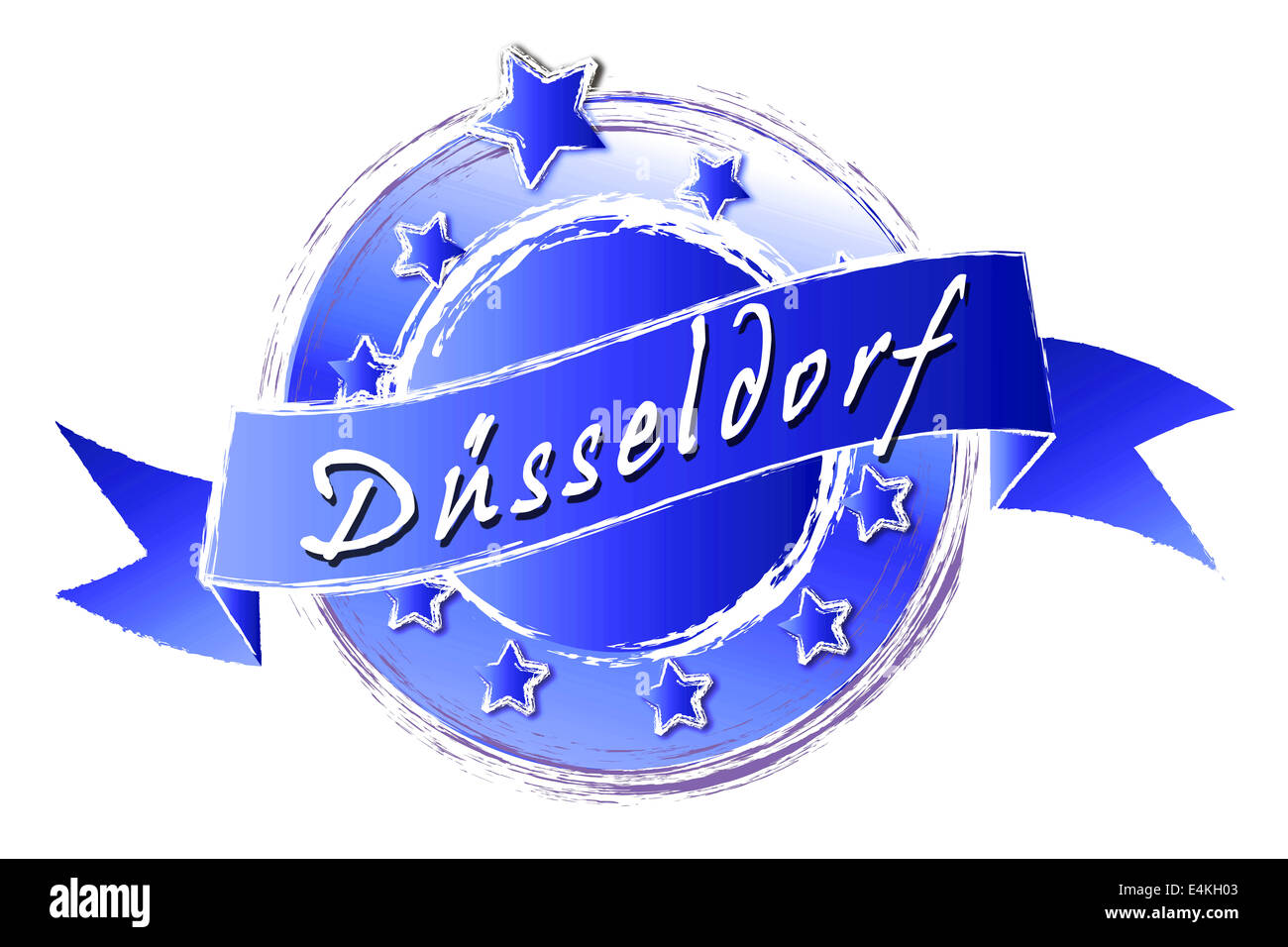 Royal Grunge - DÜSSELDORF - Stock Image