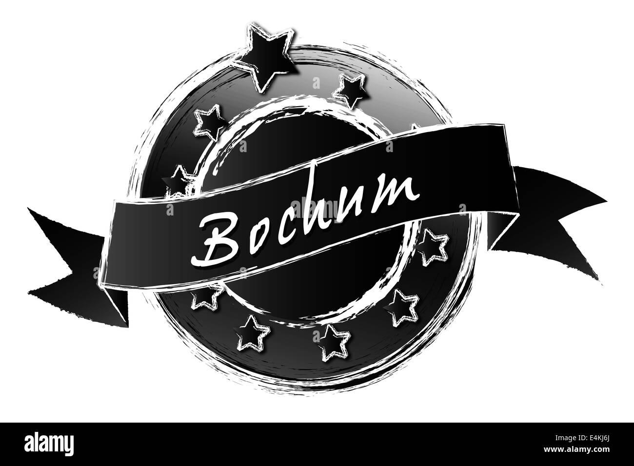 Royal Grunge - BOCHUM - Stock Image