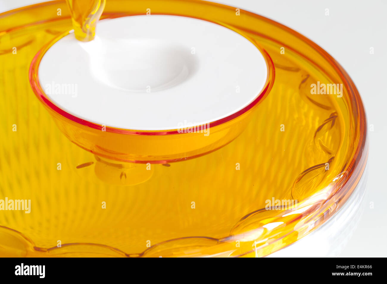 Salad spinner - Stock Image