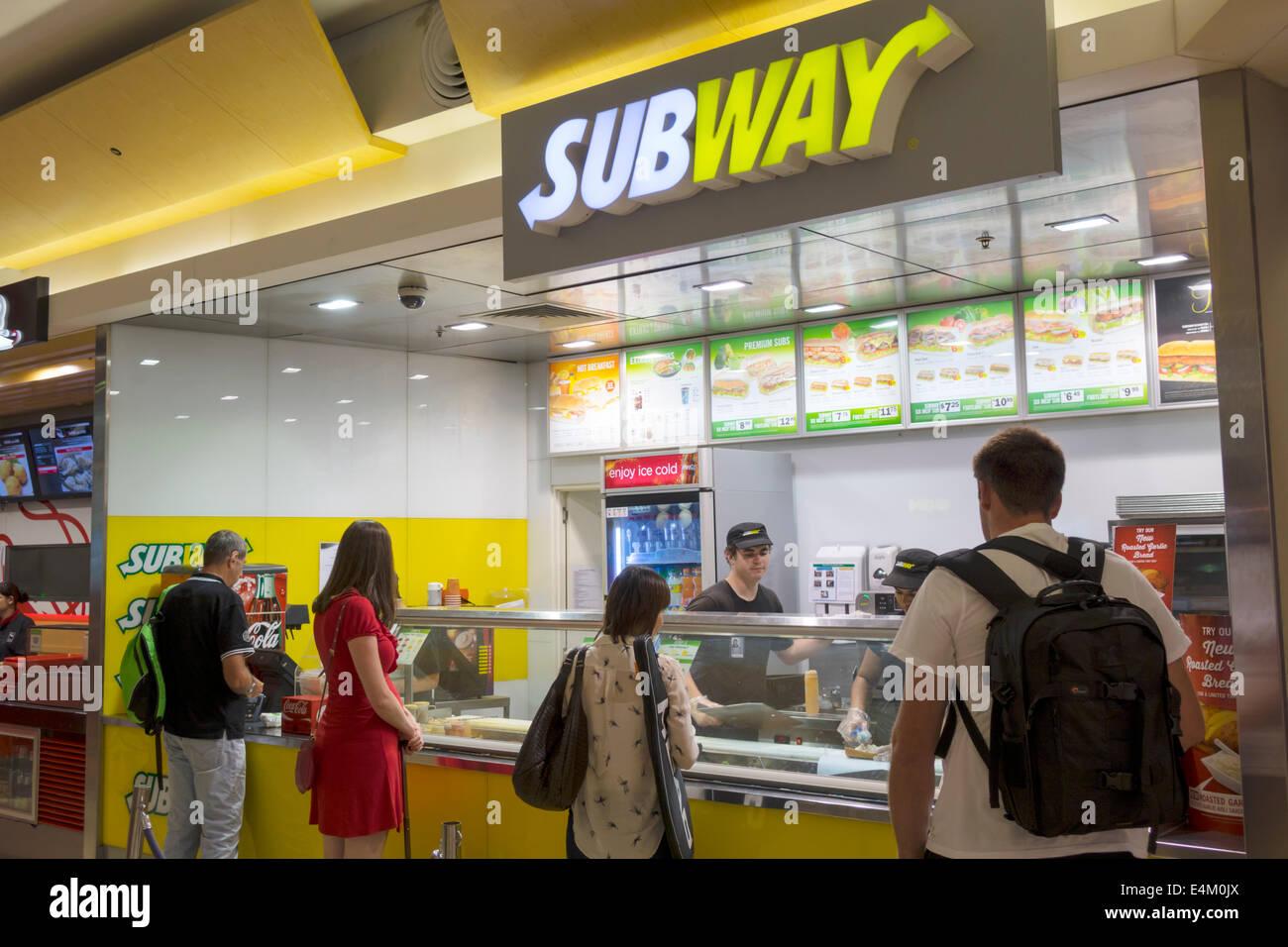 Subway Restaurant Counter Stock Photos & Subway Restaurant ...