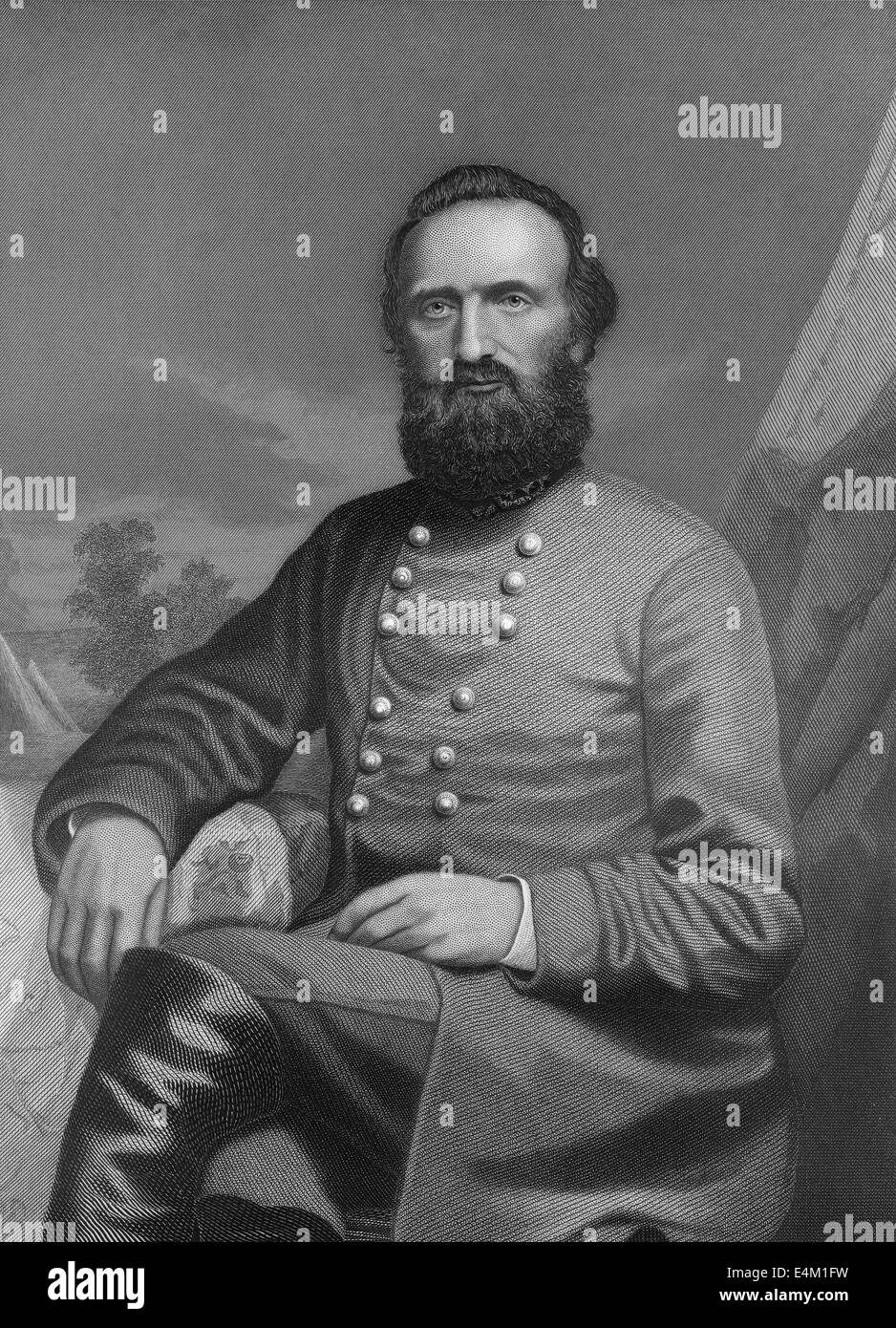 a biography of thomas stonewall jackson a confederate general during the civil war Thomas jonathan jackson, nicknamed stonewall, was a top general in the confederate army during the united states civil war before the war started, jackson was a professor at the virginia military.