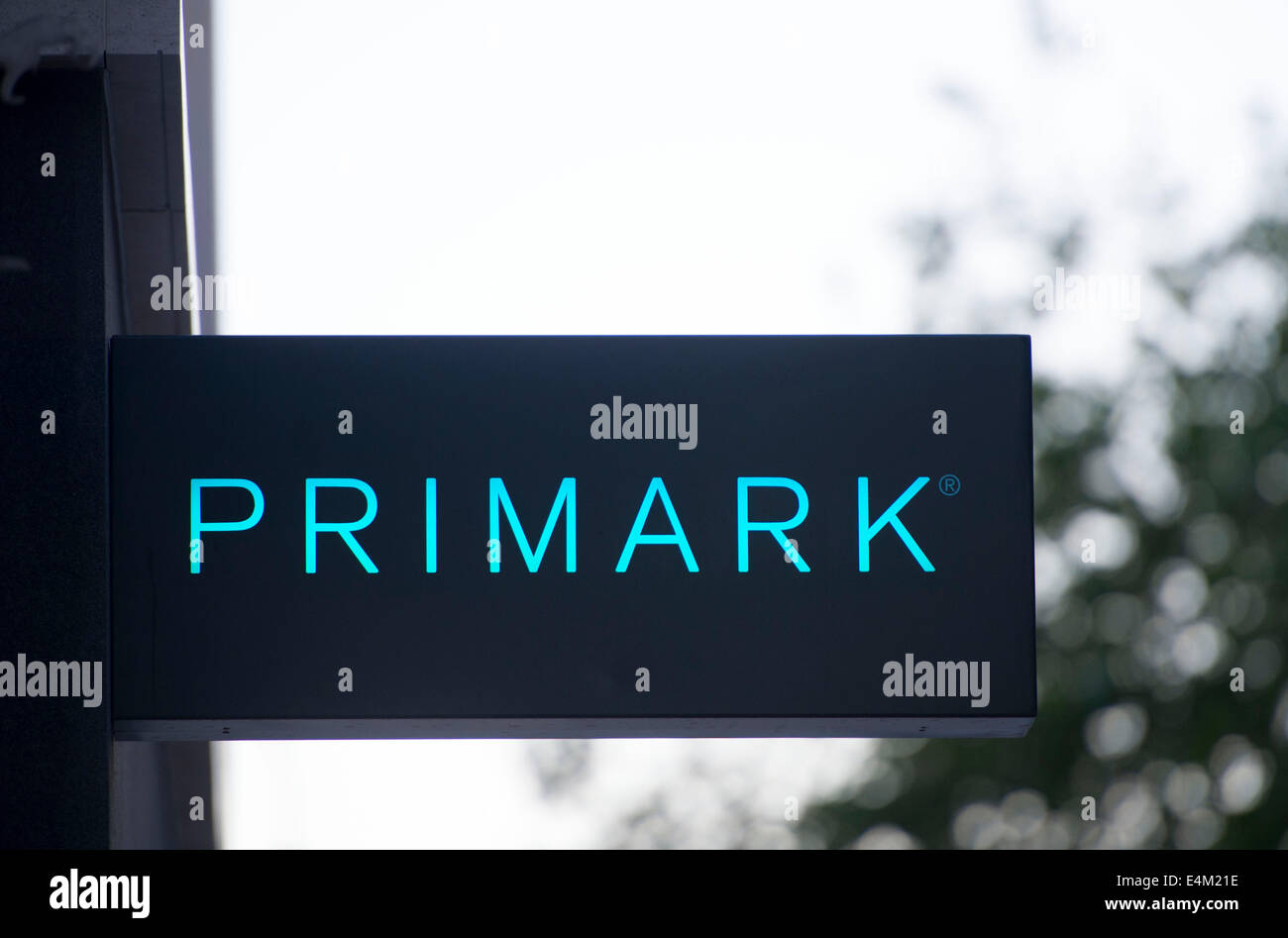 primark store sign - Stock Image