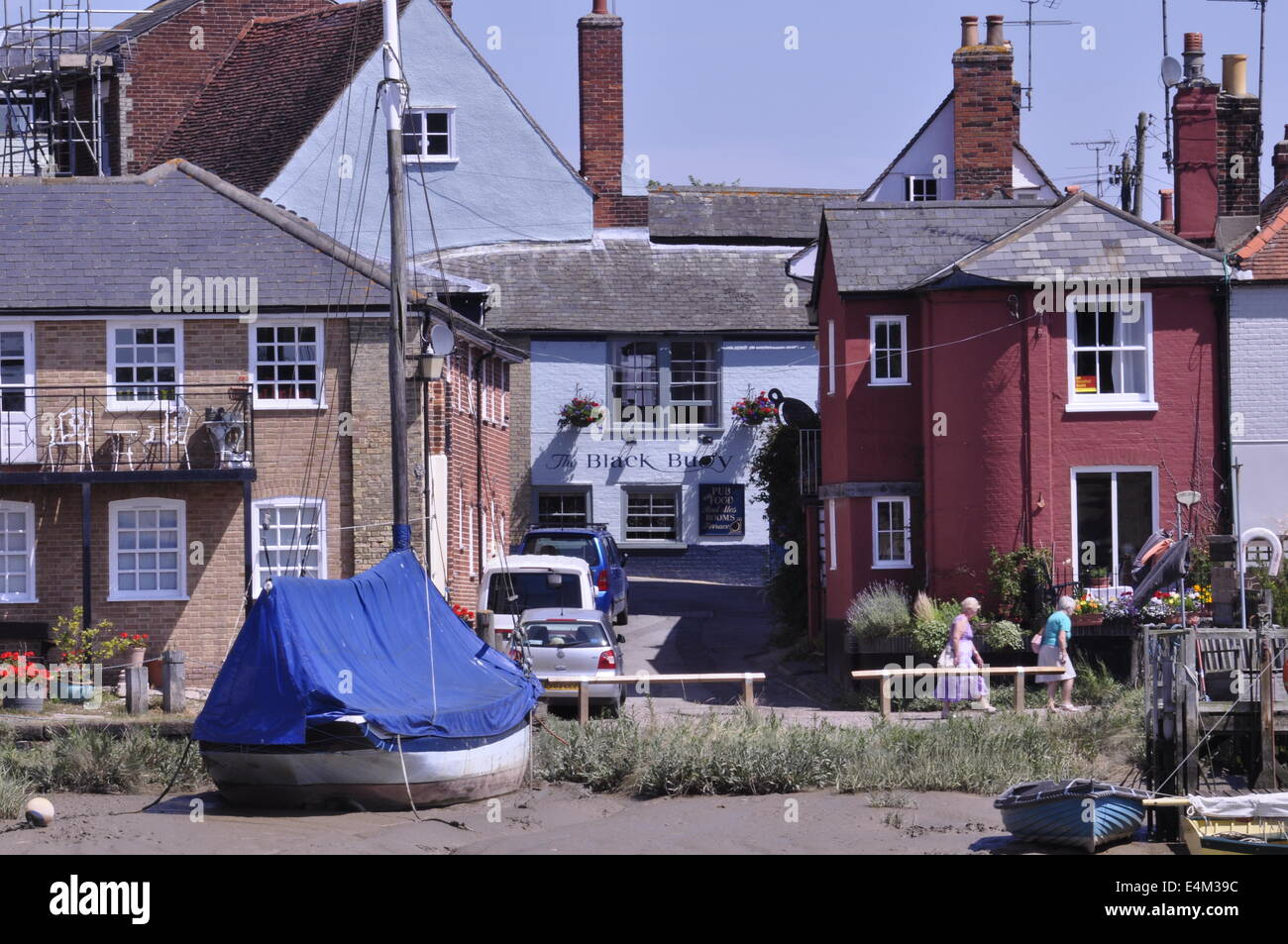 Wivenhoe on the River Colne Essex - Stock Image