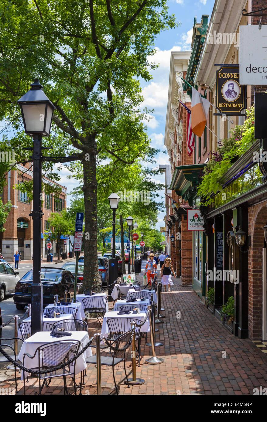Old Alexandria Va Restaurants