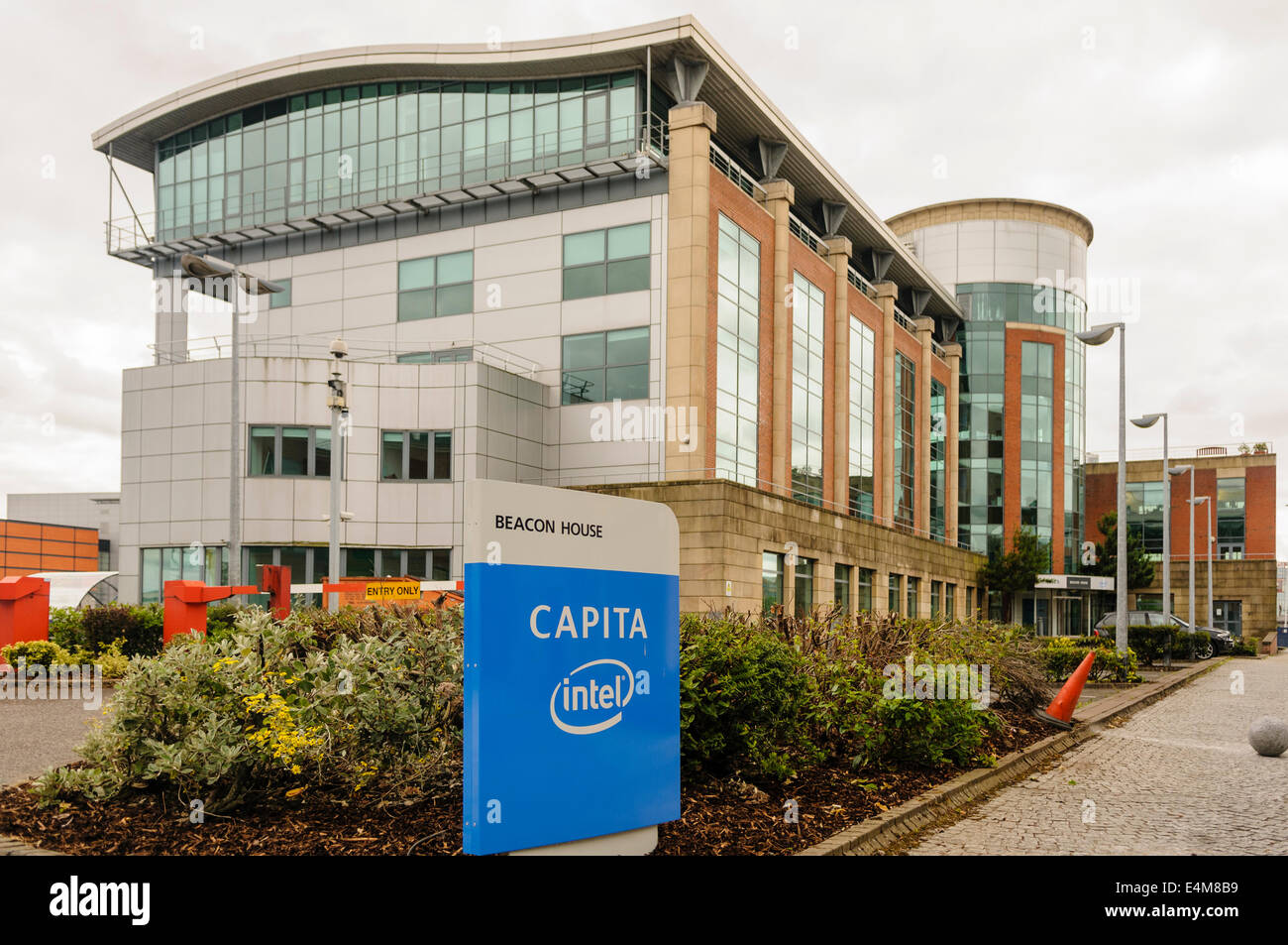 Beacon House, Belfast, the Northern Ireland office for Capita - Stock Image