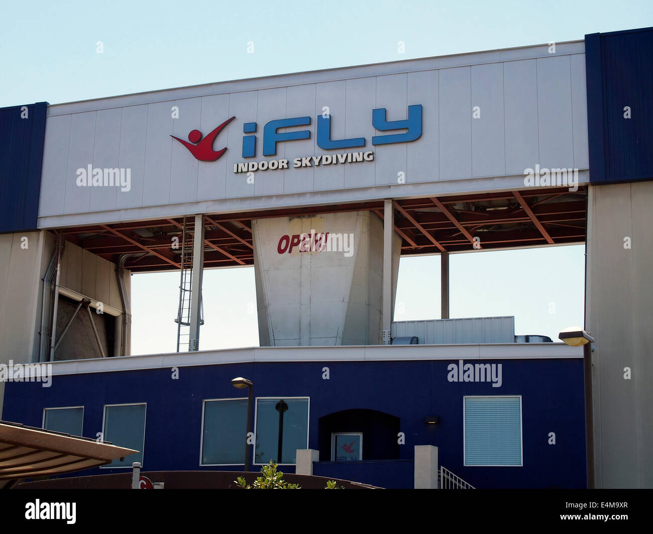 Ifly Stock Photos Images Alamy Singapore Adult Indoor Skydiving Union City California Image