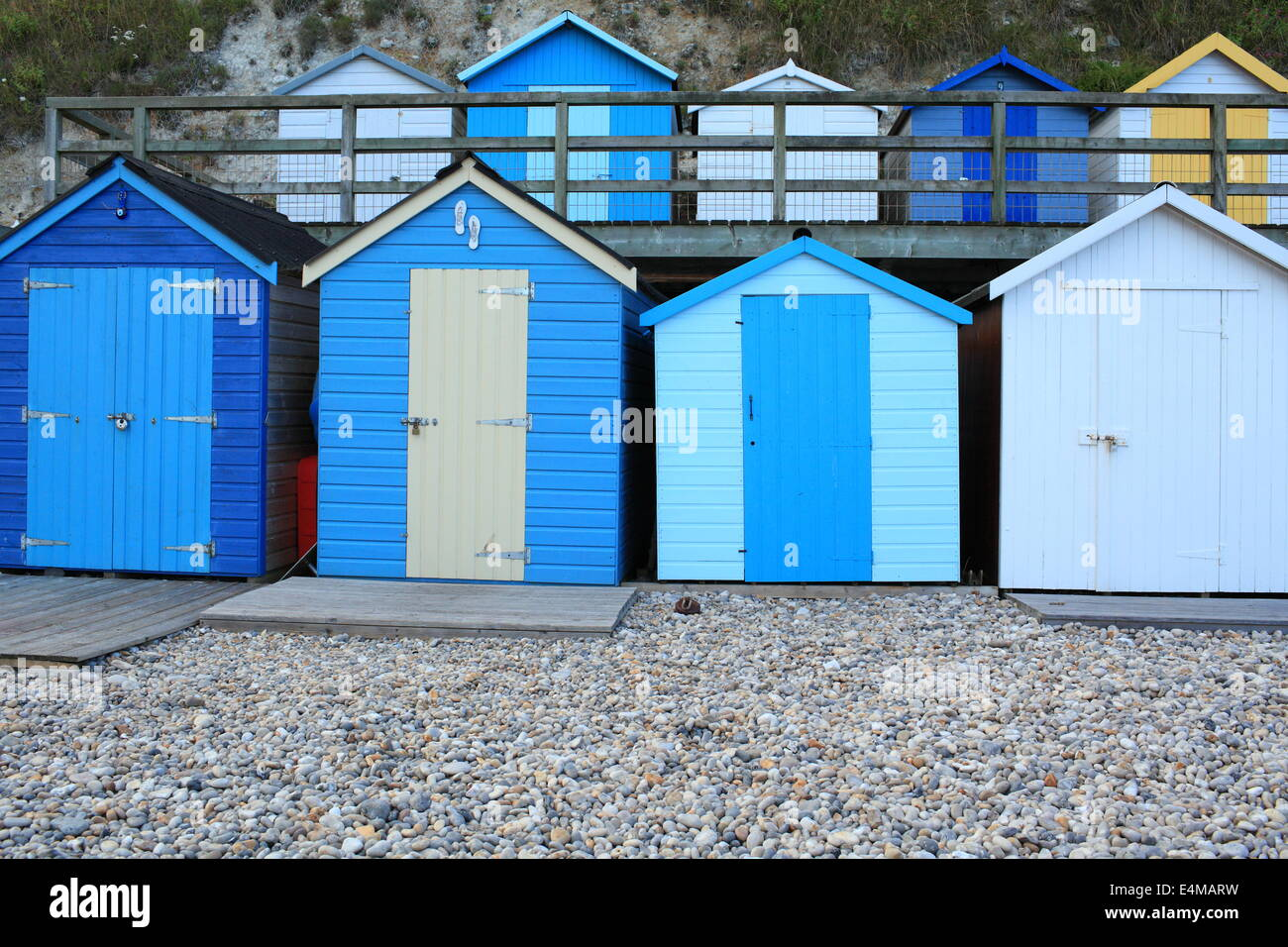Beach Huts In Northern Cyprus