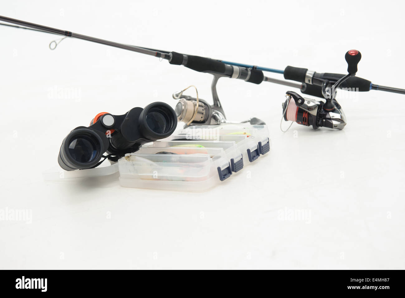 Fishing is always pleasure Stock Photo