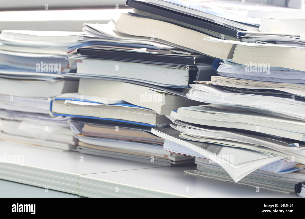 Office mess - Stock Image