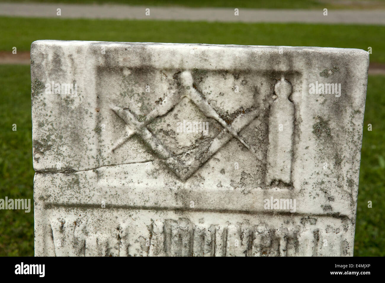 Gravestone Symbols Stock Photos Gravestone Symbols Stock Images