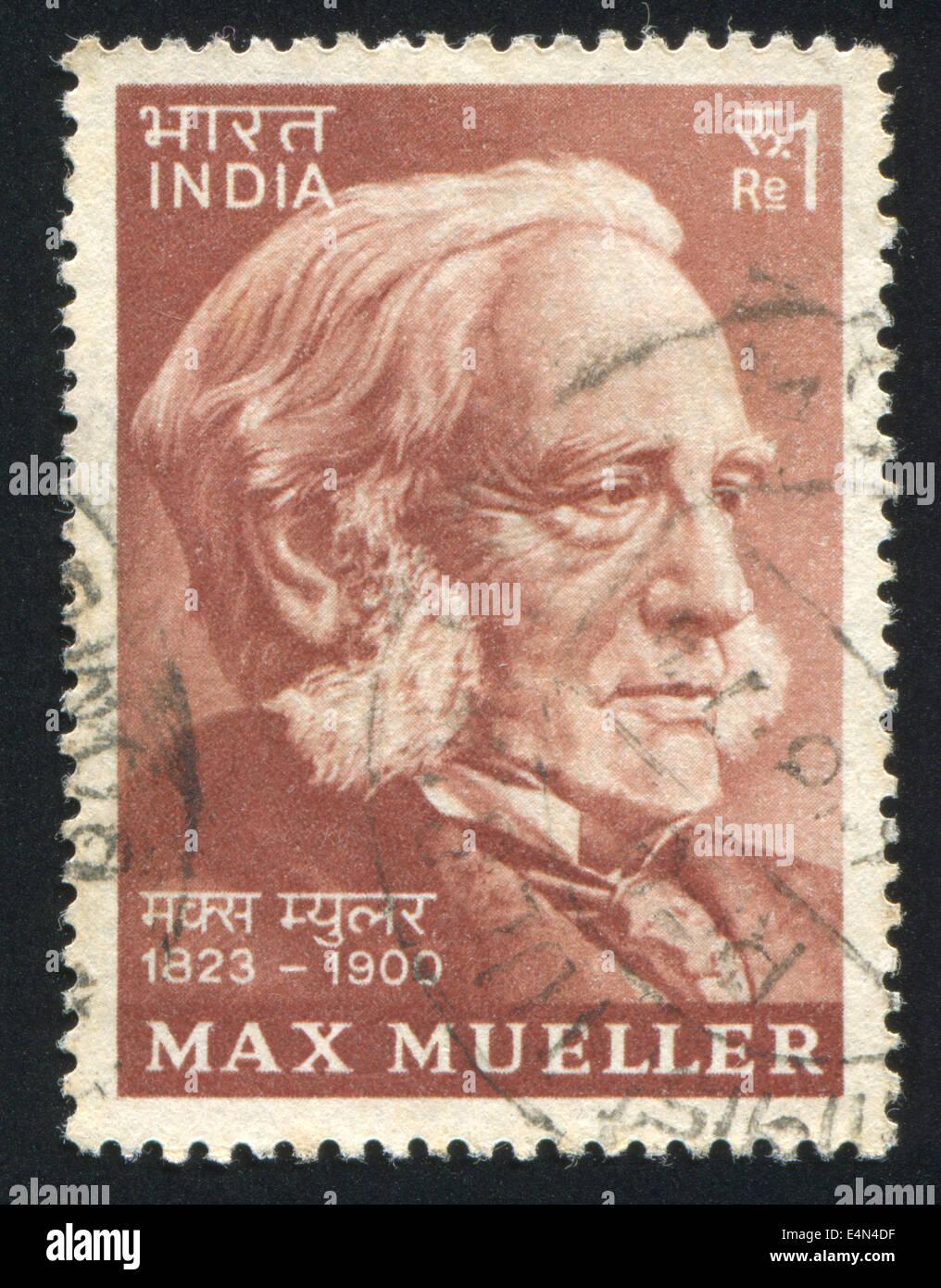 Max Mueller - Stock Image