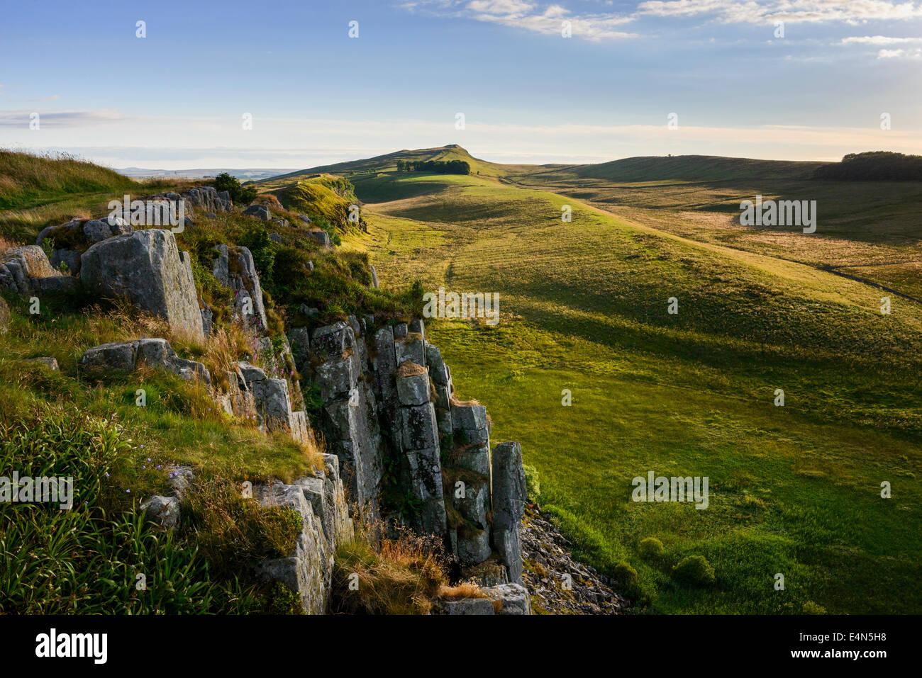 High Shield Crag - Stock Image