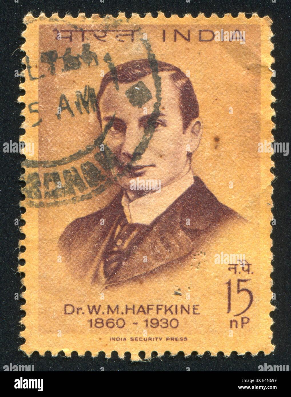 Waldemar Haffkine - Stock Image