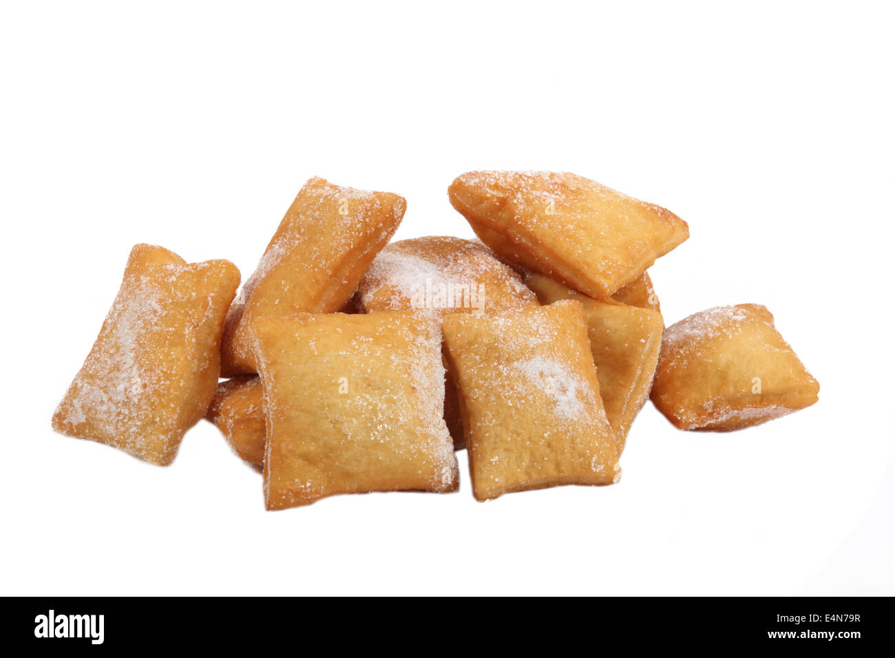 Sugar dusted confectioneries - Stock Image