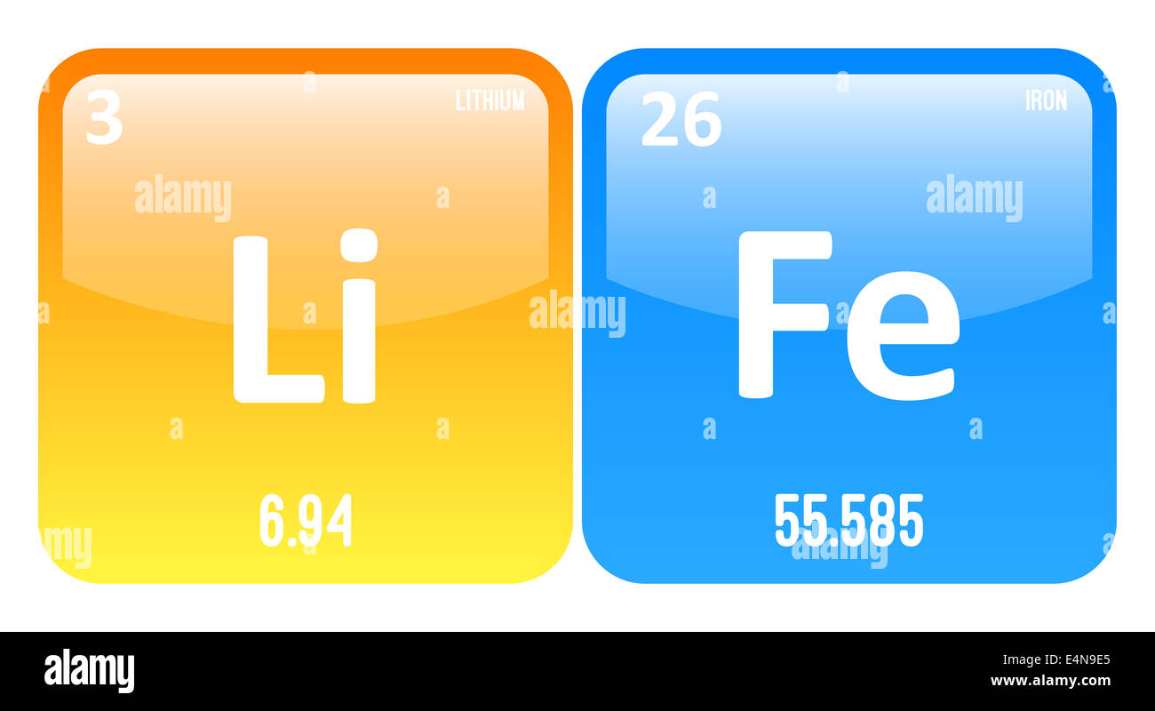 Life word made of periodic table elements lithium and iron stock life word made of periodic table elements lithium and iron urtaz