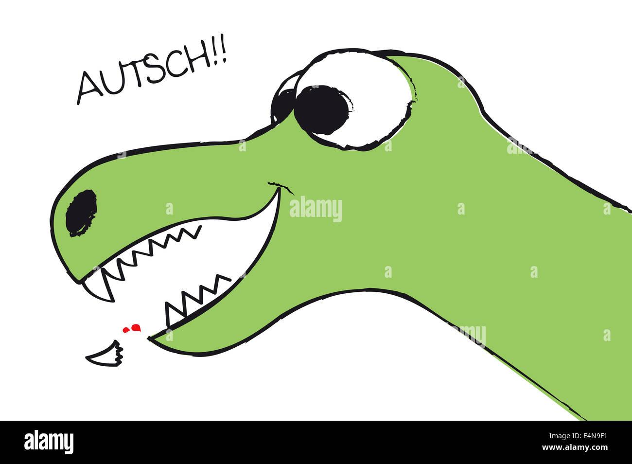 Zahnausfall - Stock Image