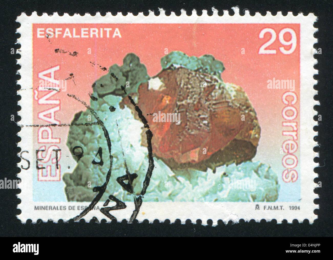 Sphalerite - Stock Image