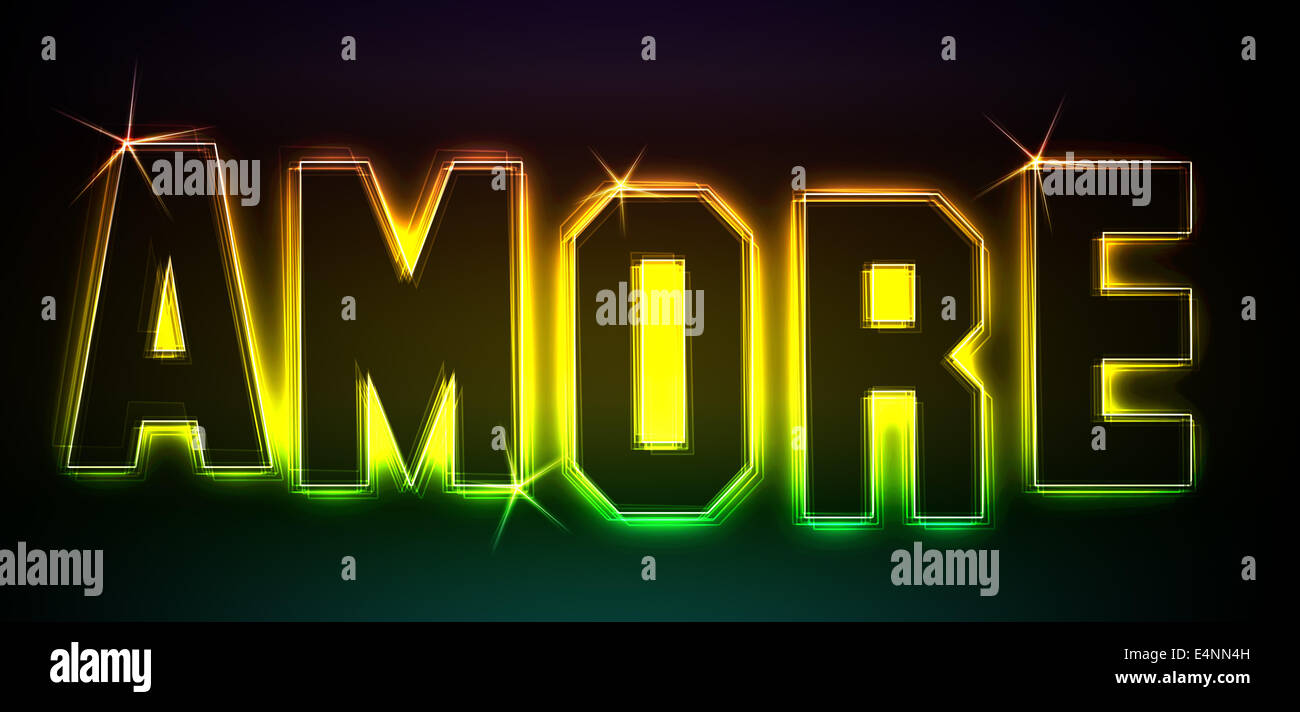 Amore - Stock Image