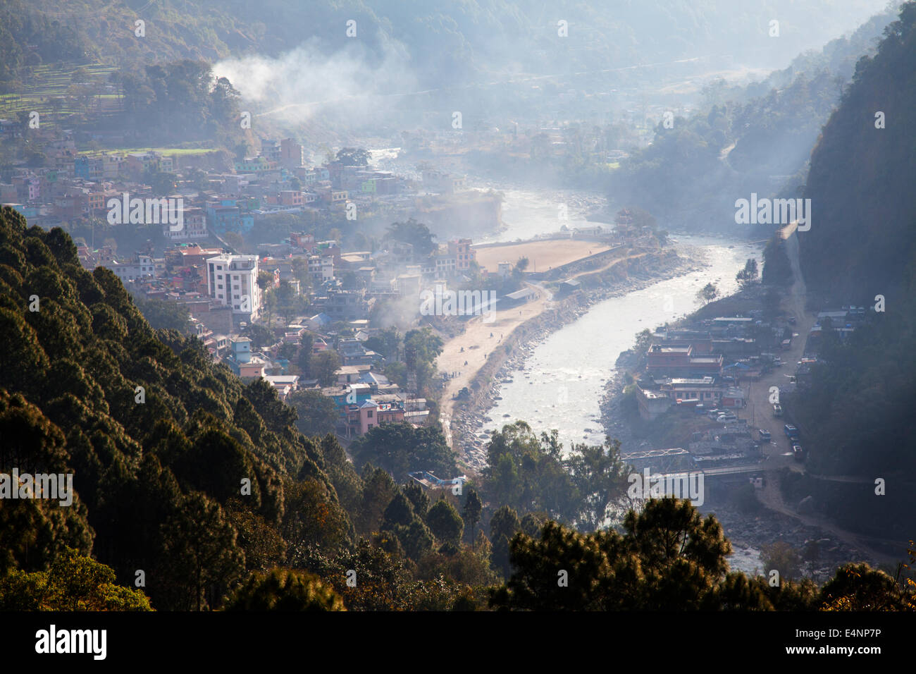 Beni, Myagdi District, Nepal - Stock Image