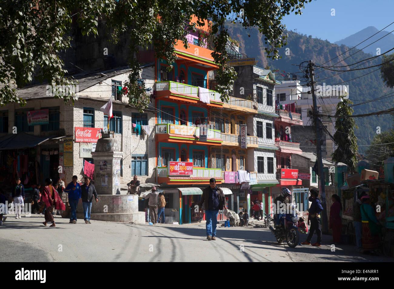 Beni, Myagdi District, Nepal - Stock Image