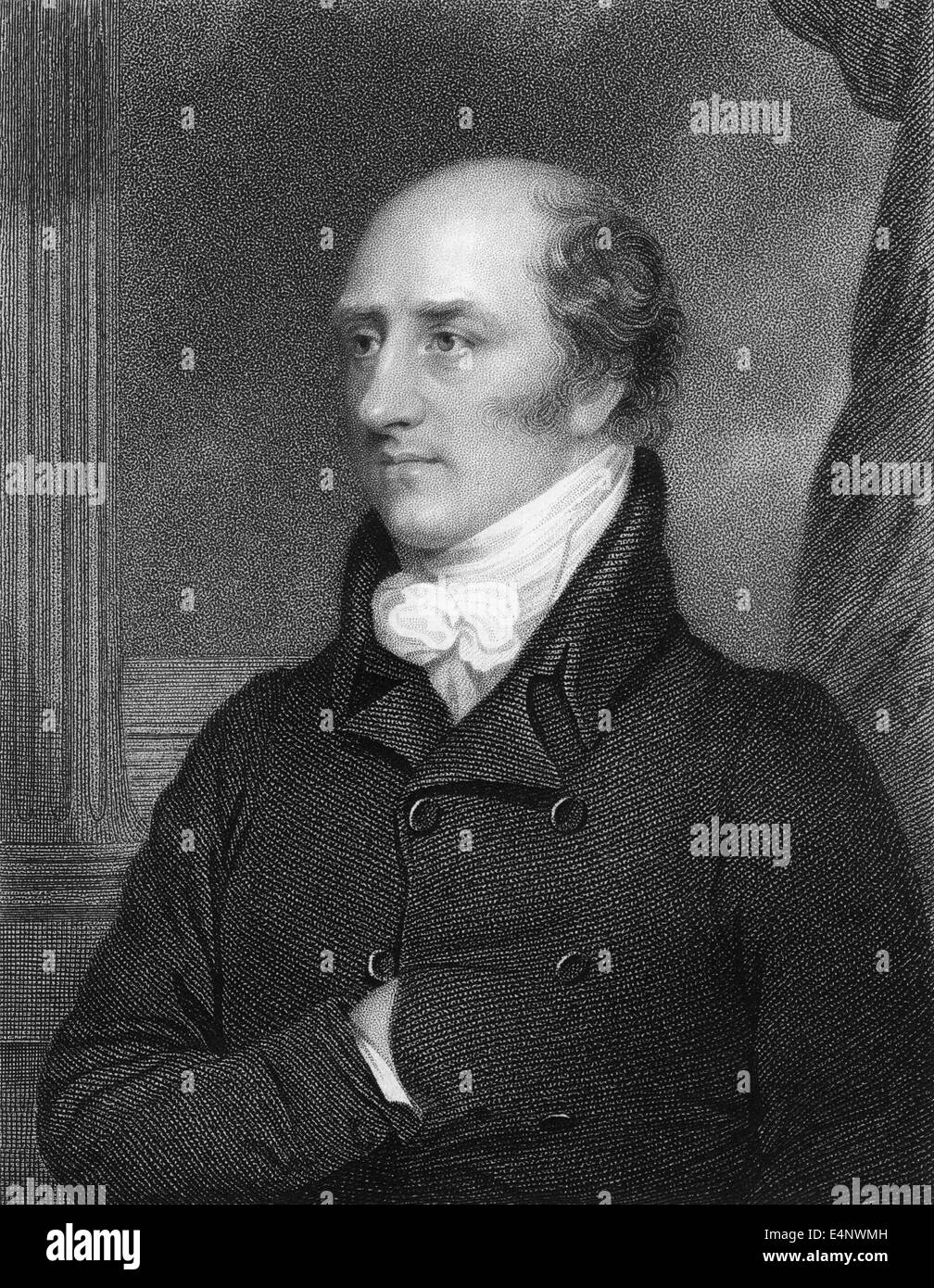 George Canning, 1770 - 1827, a British politician, foreign minister and prime minister - Stock Image