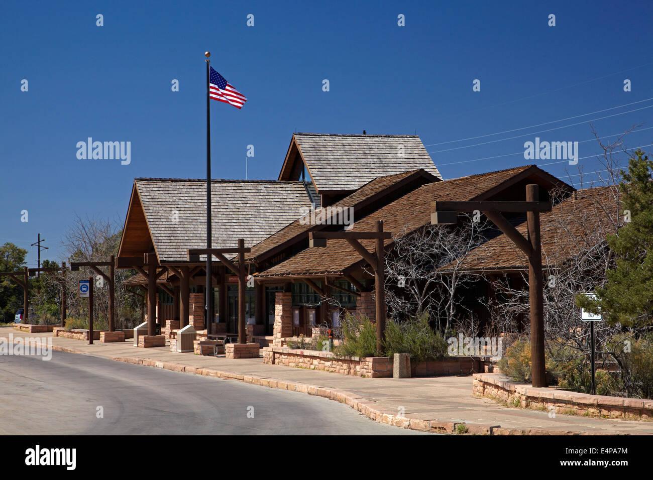 Backcountry Information Center, Grand Canyon Village, South Rim, Grand Canyon National Park, Arizona, USA - Stock Image