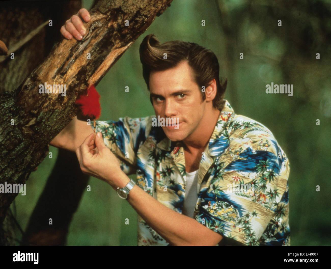 ACE VENTURA: WHEN NATURE CALLS  1995 Warner Bros film with Jim Carrey - Stock Image