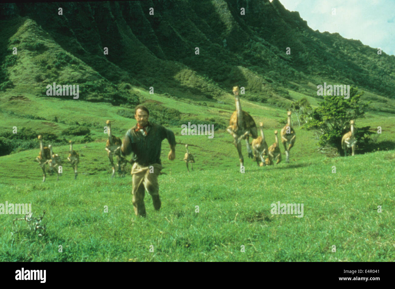 Jurassic Park 1993 Universal Pictures Film With Sam Neil Stock Photo Alamy