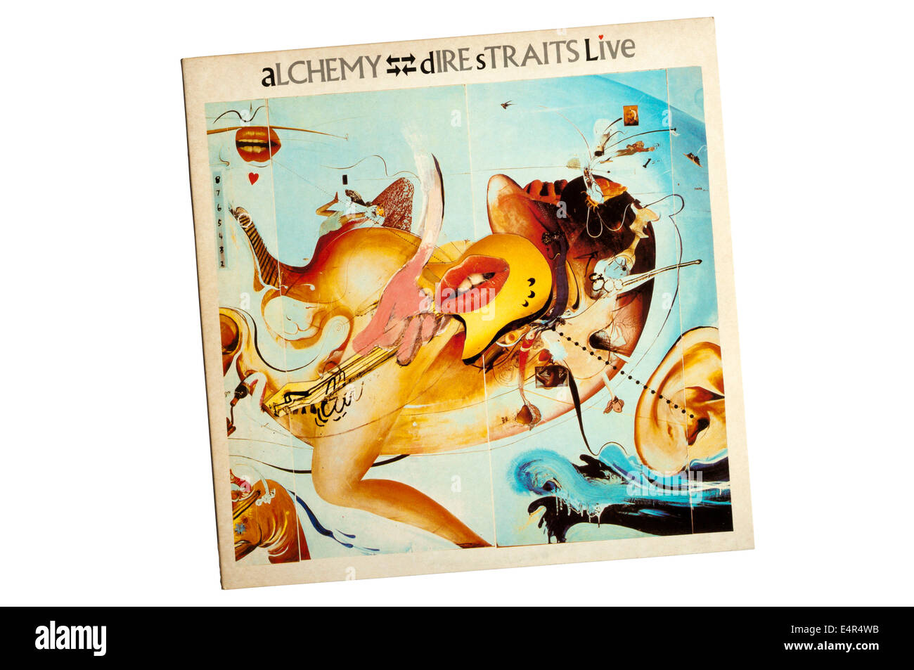 Alchemy: Dire Straits Live was a double album by British rock band Dire Straits, released in 1984. The band's - Stock Image